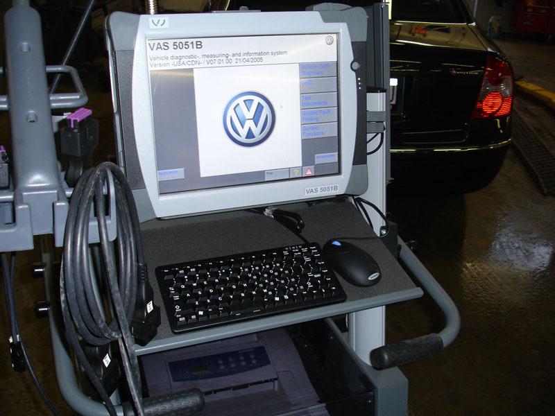 Диагностика автомобилей Фольксваген